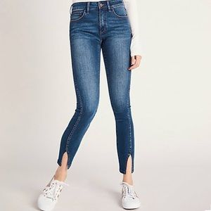 Anthropologie Pilcro Mid-Rise Skinny Jeans